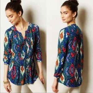 Anthropologie | Maeve Colorful Tunic